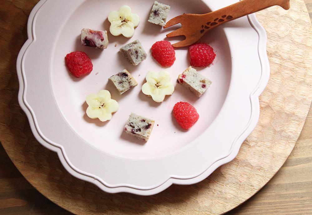 ベリーマフィン:大人も子供もおいしい取り分けレシピ(1歳児〜)